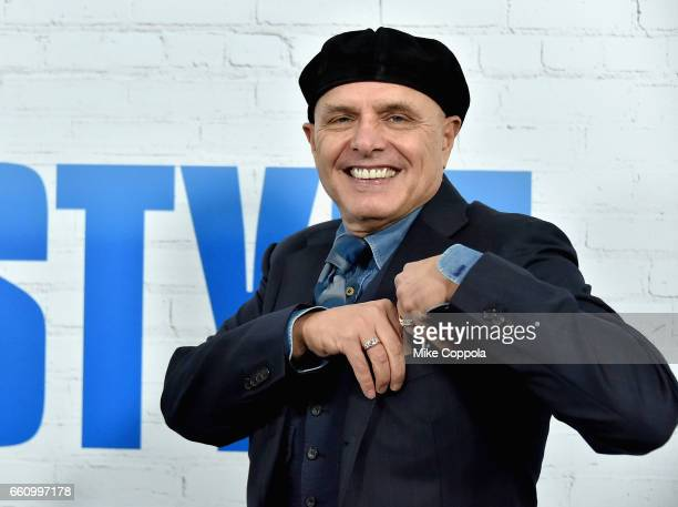 Joe Pantoliano attends the 'Going In Style' New York Premiere at SVA Theatre on March 30 2017 in New York City