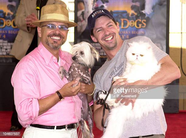Joe Pantoliano Maggie Sean Hayes Foster during Cats Dogs Pawprints and Benefit at Egyptian Theater in Hollywood California United States