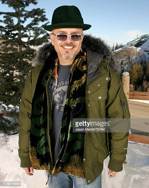 Joe Pantoliano wearing The North Face at The Ice Lounge presented by The North Face Lexus and St Regis*Exclusive*