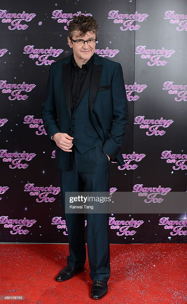Joe Pasquale attends the series launch photocall for 'Dancing on Ice' held at the London Studios on January 2, 2014 in London, England.