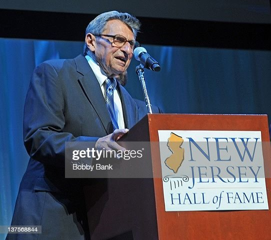 <a gi-track='captionPersonalityLinkClicked' href=/galleries/search?phrase=Joe+Paterno&family=editorial&specificpeople=623059 ng-click='$event.stopPropagation()'>Joe Paterno</a> attends the 2011 New Jersey Hallf of Fame Induction Ceremony at the New Jersey Performing Arts Center on June 5, 2011 in Newark, New Jersey.