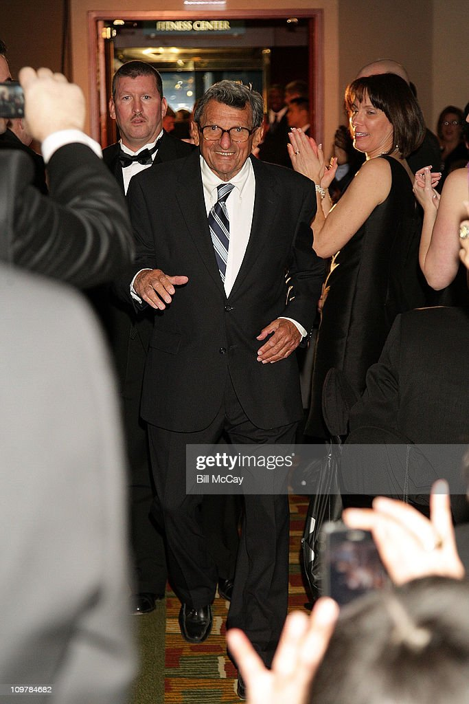 Joe Paterno, Head Football Coach for Penn State University attends the 74th Annual Maxwell Football Club Awards Banquet at Harrah's Resort March 4, 2011 in Atlantic City, New Jersey.
