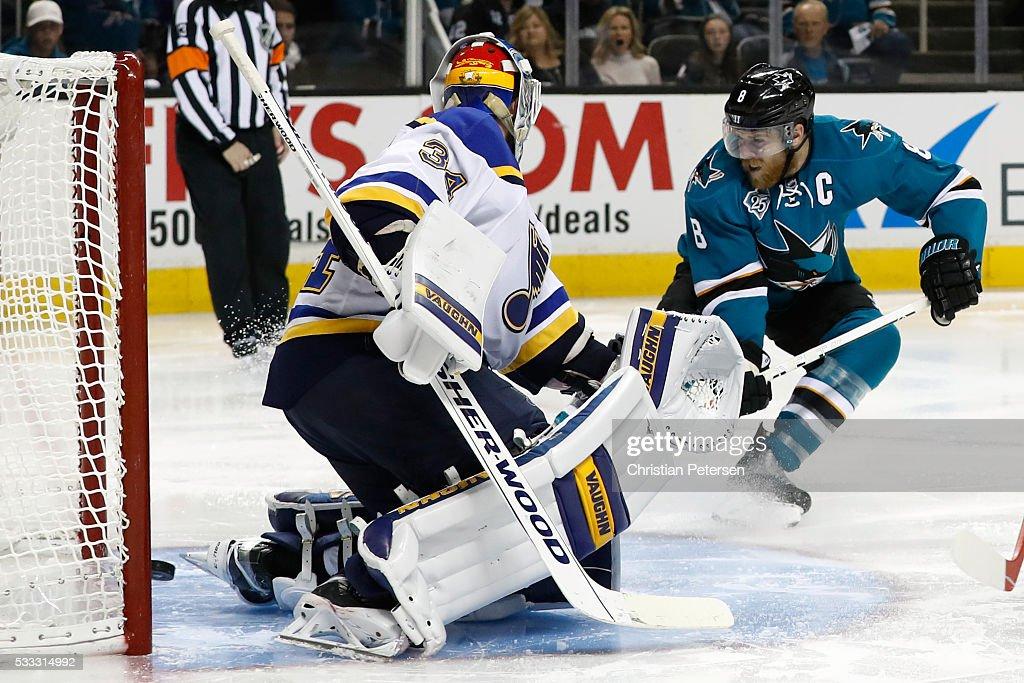 St Louis Blues v San Jose Sharks - Game Four