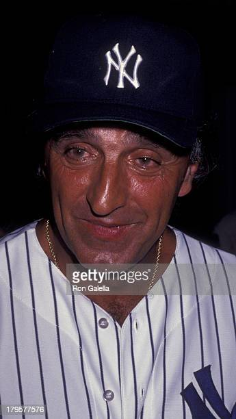 Joe Pepitone attends First Annual Police Athletic League of New York Celebrity Softball Game on August 10 1991 at Yankee Stadium in New York City