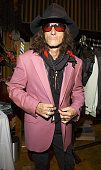 Joe Perry of Aerosmith at the GRAMMY Style Studio during GRAMMY Style Studio Day 2 at Ocean Way Recording Studios in Los Angeles California United...
