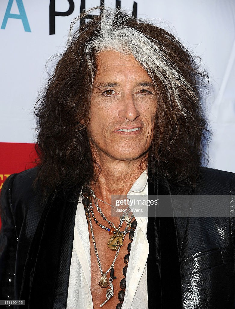 <a gi-track='captionPersonalityLinkClicked' href=/galleries/search?phrase=Joe+Perry+-+Musician&family=editorial&specificpeople=13600677 ng-click='$event.stopPropagation()'>Joe Perry</a> of Aerosmith attends the Hollywood Bowl opening night celebration at The Hollywood Bowl on June 22, 2013 in Los Angeles, California.