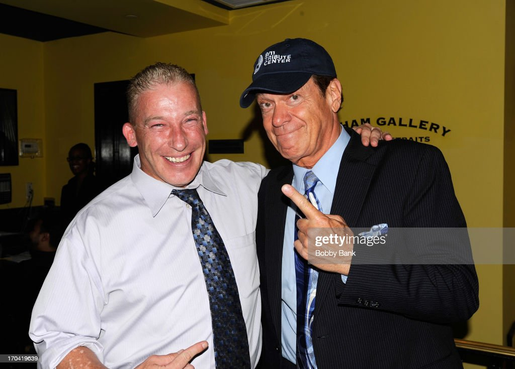Joe Piscopo and Jeff Norris attends Laughter Saves Lives Comedy Night to Benefit The Tribute 9/11 Visitor Center at Gotham Comedy Club on June 12, 2013 in New York City.
