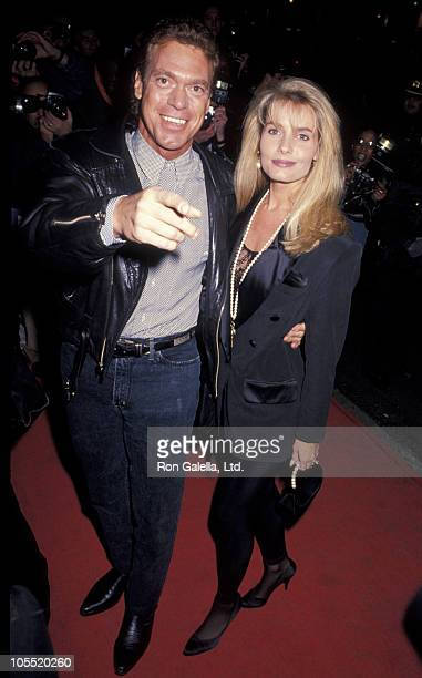 Joe Piscopo and wife Kimberly during Screening of 'The Distinguished Gentleman' at Loew's 19th Street Theater in New York City New York United States