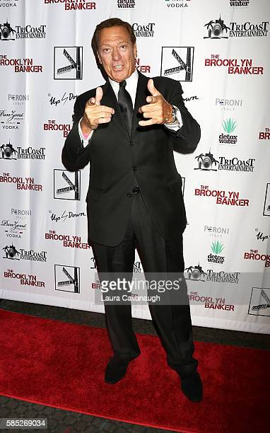 Joe Piscopo attends 'The Brooklyn Banker' New York Premiere at SVA Theatre on August 2 2016 in New York City