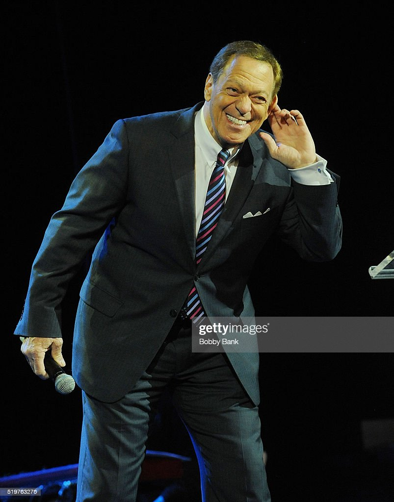 Joe Piscopo hosts the 2016 New Jersey Hall Of Fame Induction Ceremony at Asbury Park Convention Center on April 7, 2016 in Asbury Park, New Jersey.
