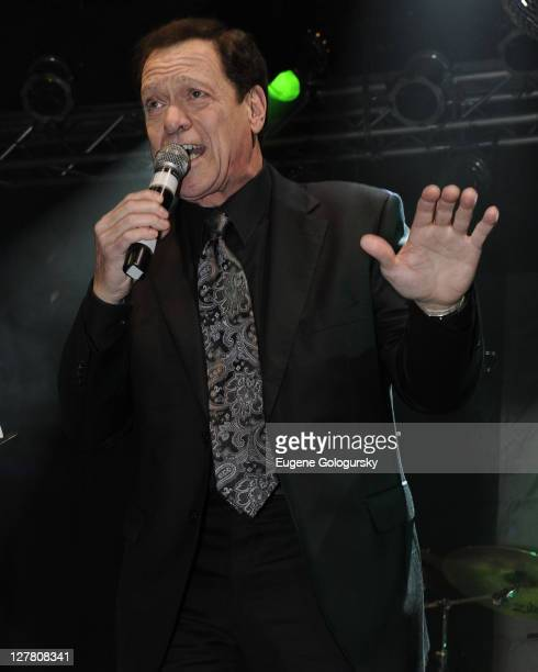 Joe Piscopo performs during the 12th Annual AllStar Irish Rock Revue at Highline Ballroom on March 12 2011 in New York City