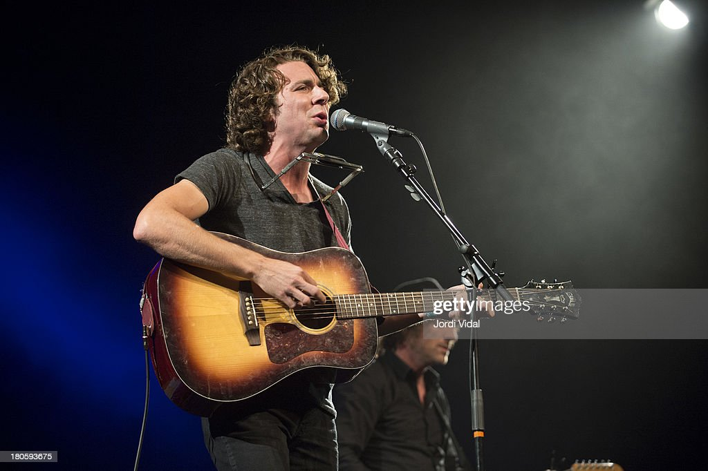Joe Pug performs on stage at Take Root Festival 2013 at De Oosterport on September 14, 2013 in Groningen, Netherlands.