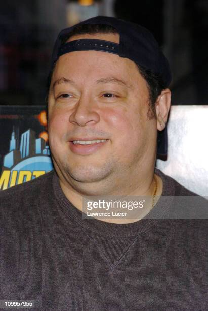 Joe Quesada editorinchief of Marvel Comics during Thomas Jane In Store Appearance to Promote The Punisher April 15 2004 at Midtown Comics in New York...