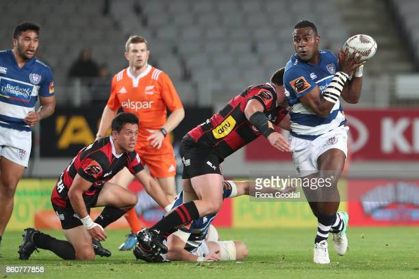 Joe Ravouvou of Auckland during the round nine Mitre 10 Cup match between Auckland and Canterbury at Eden Park on October 13 2017 in Auckland New...