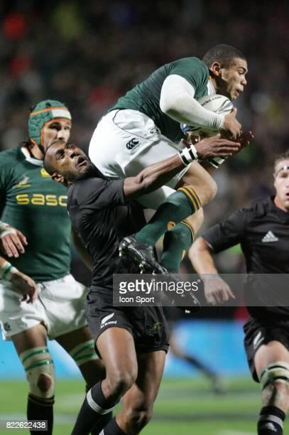 Joe ROCKOCOKO / Brain HABANA Nouvelle Zelande / Afrique du Sud Tri Nations Hamilton Nouvelle Zelande