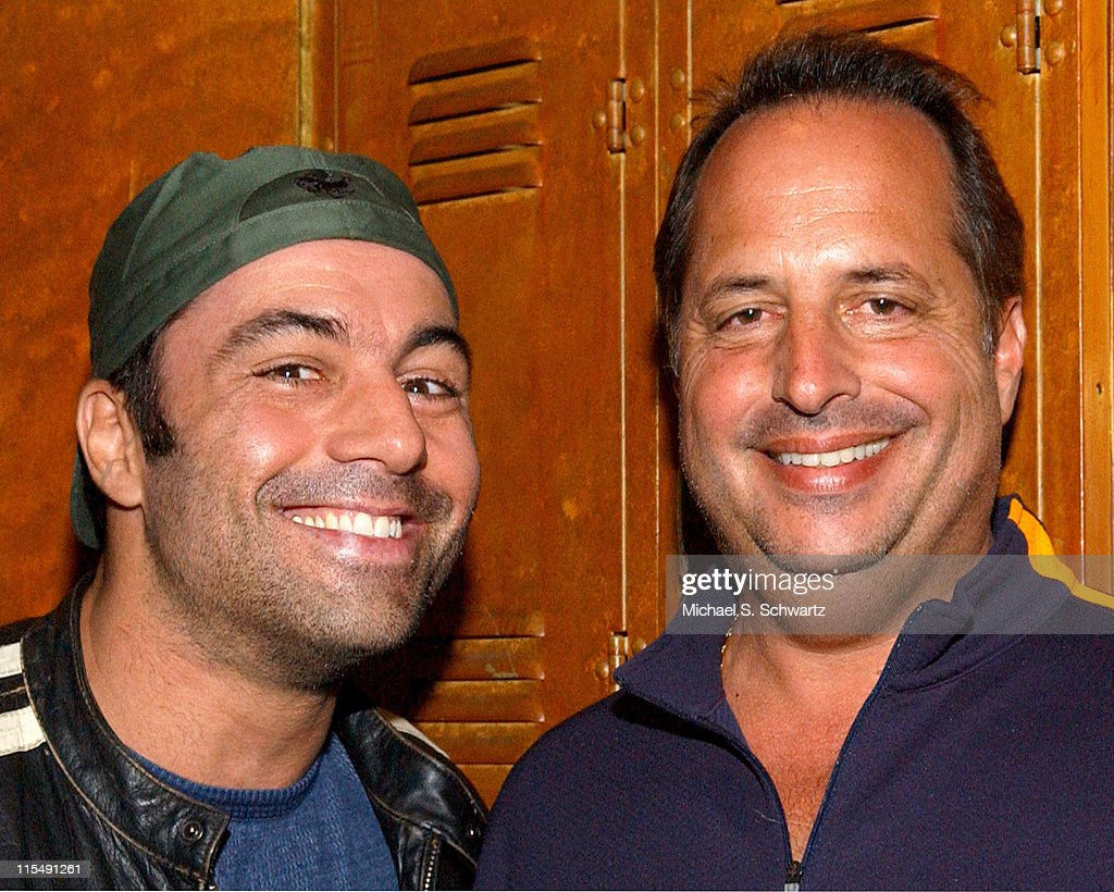 Joe Rogan and Jon Lovitz during Freddy Soto Benefit at the Laugh Factory Starring Dane Cook - November 16, 2005 at The Laugh Factory in West Hollywood, California, United States.