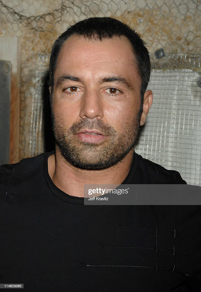 Joe Rogan during First Annual Spike TV's Guys Choice - Backstage and Audience at Radford Studios in Los Angeles, California, United States.