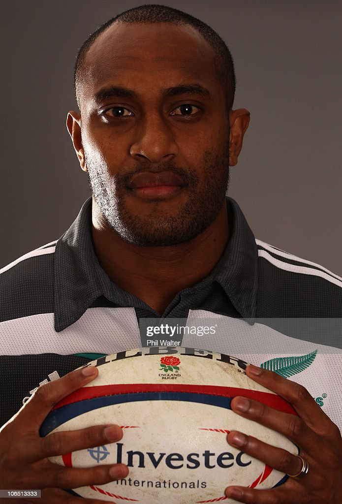 Joe Rokocoko of the All Blacks poses for a portrait during a New Zealand All Blacks press conference at the Royal Garden Hotel in Kensington on...