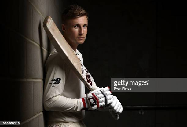 Joe Root of England poses during the 2017/18 England Ashes Squad portrait session at the WACA on November 1 2017 in Perth Australia