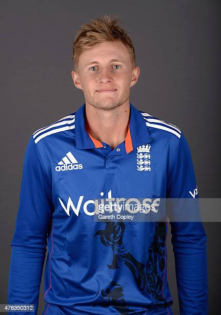 Joe Root of England poses for a portrait at Edgbaston on June 8 2015 in Birmingham England