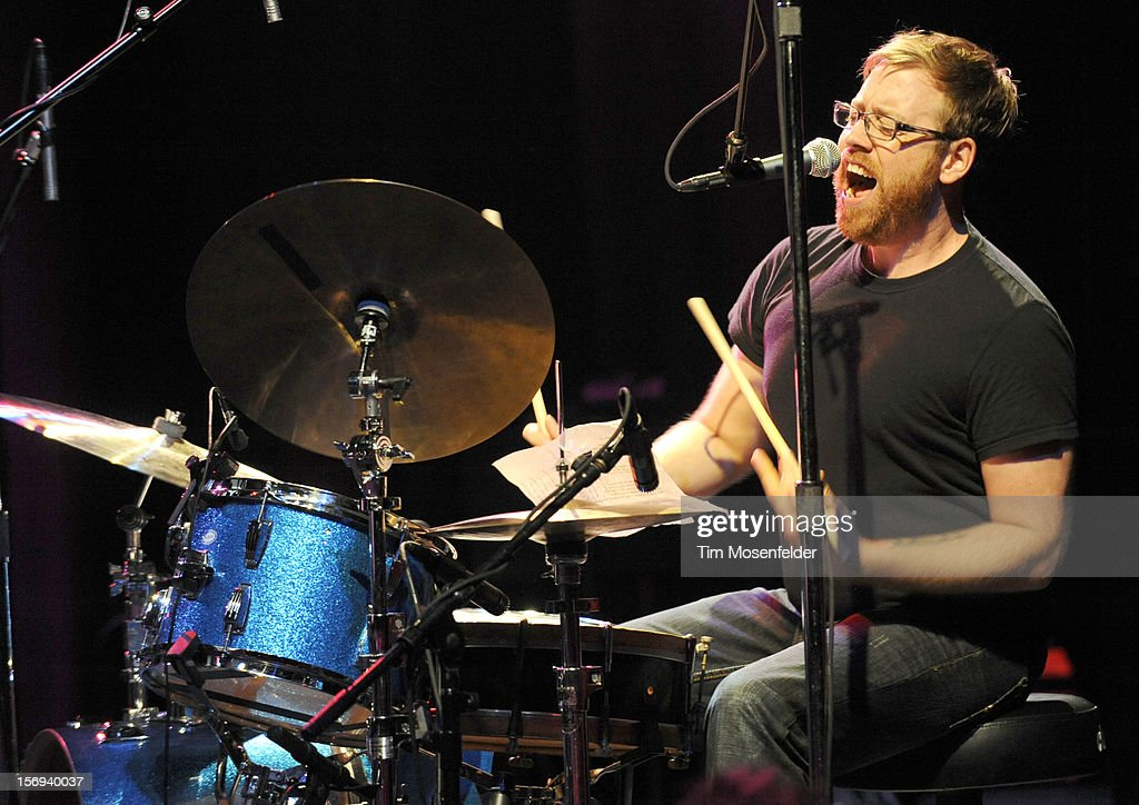 Joe Russo performs during The Last Waltz Tribute Concert at The Warfield on November 24, 2012 in San Francisco, California.