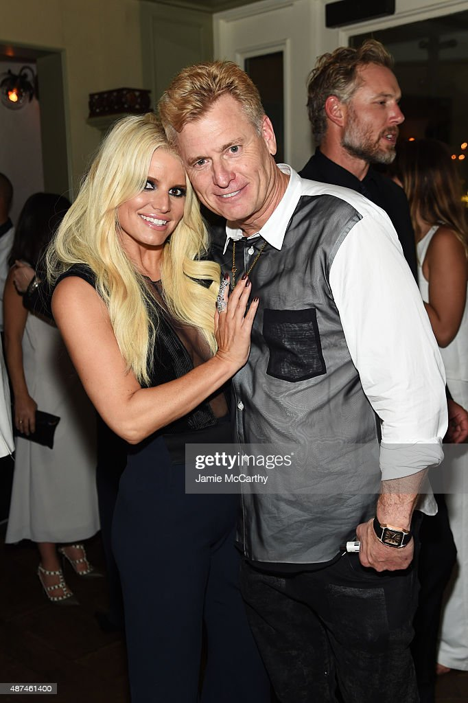 Joe Simpson and Jessica Simpson attend the 10th Anniversary Celebration of the Jessica Simpson Collection at Tavern on the Green on September 9 2015...