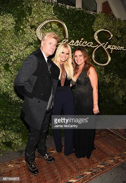 Joe Simpson Jessica Simpson and Tina Ann Drew attend the 10th Anniversary Celebration of the Jessica Simpson Collection at Tavern on the Green on...