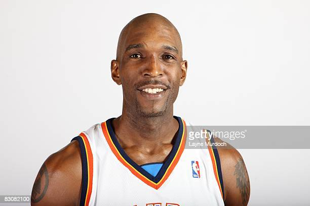 Joe Smith of the Oklahoma City Thunder poses for a portrait during NBA Media Day on September 29 2008 at the Skirvin Hilton Hotel in Oklahoma City...