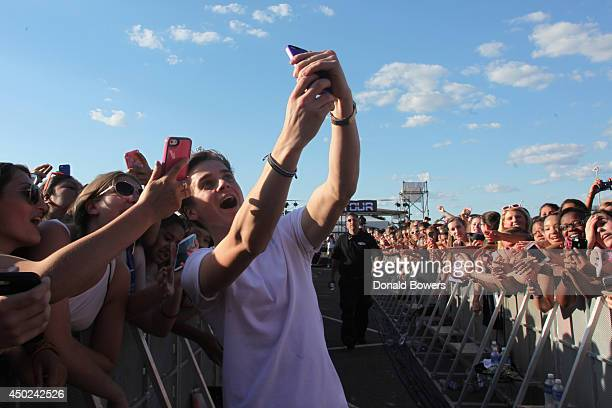 Joe Sugg attends DigiTour Media Presents DigiFest NYC at Citi Field on June 7 2014 in New York City