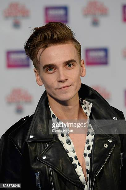 Joe Suggs attends the UK premiere of 'Joe And Caspar Lee Hit The Road USA' at Cineworld Leicester Square on November 17 2016 in London United Kingdom