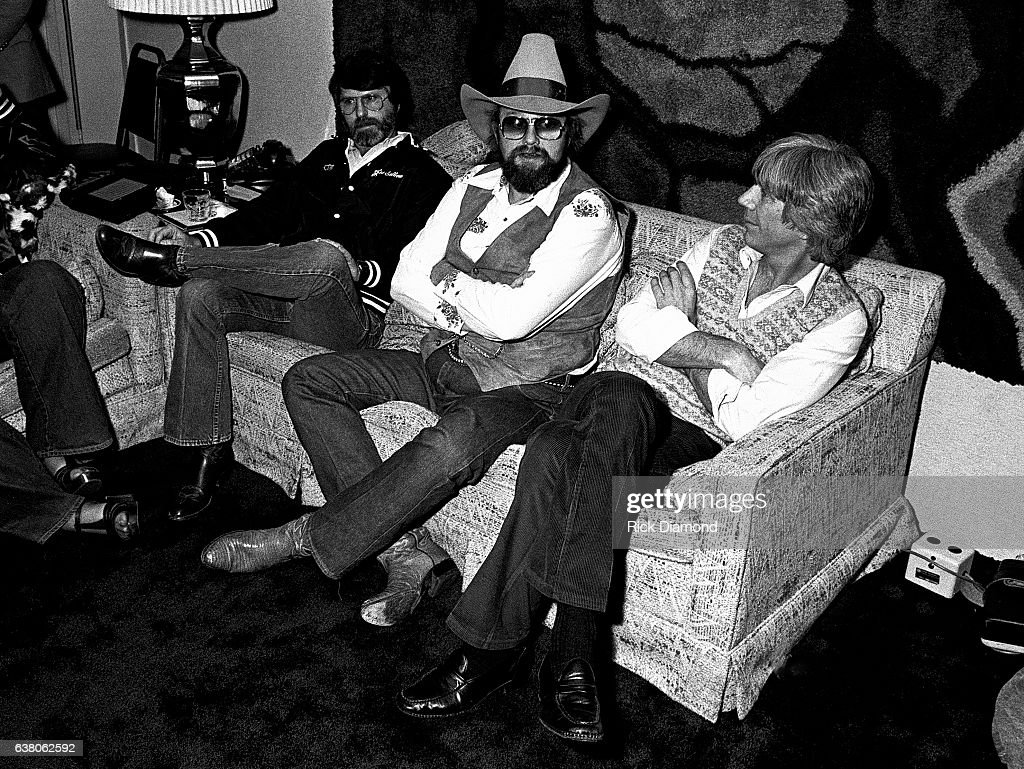 Joe Sullivan Sound Seventy, Charlie Daniels and Guest press conference during Charlie Daniels Volunteer Jam VII at the Municipal Auditorium in Nashville Tennessee January 12, 1980