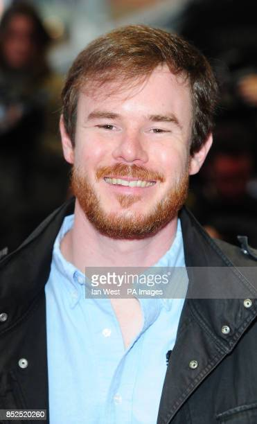 Joe Swanberg arriving at the screening of new film Drinking Buddies at the Odeon West End cinema London