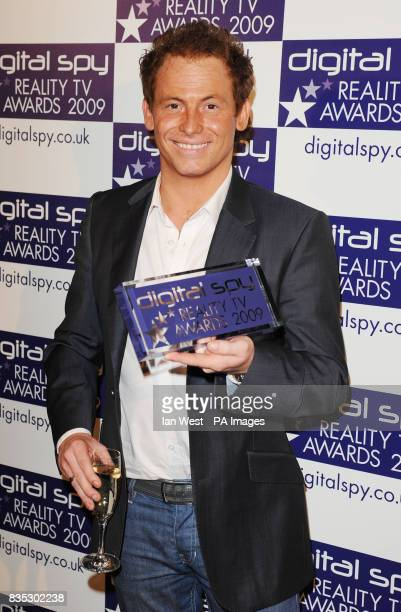 Joe Swash wins Best Celebrity Contestant and the Best Winner Awards at the Bloomsbury Ballroom in London