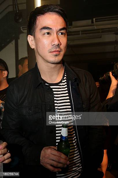 Joe Taslim attends the Burberry Brit Rhythm gig wearing Burberry on October 18 2013 in Singapore