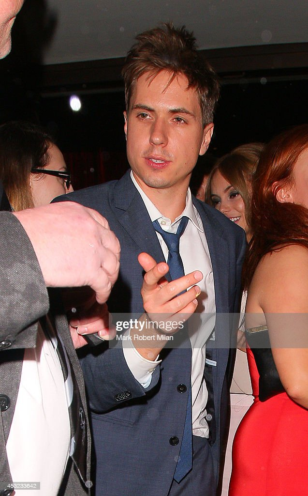 Joe Thomas attending the Inbetweeners 2 aftershow party at Aqua on August 5 2014 in London England