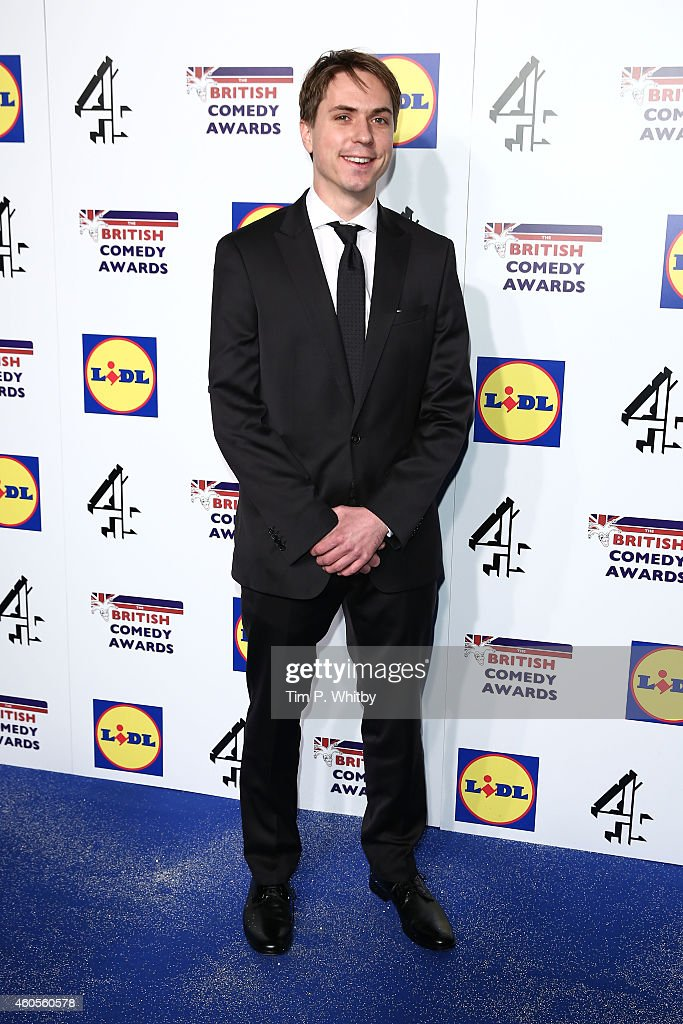 Joe Thomas attends the British Comedy Awards at Fountain Studios on December 16 2014 in London England