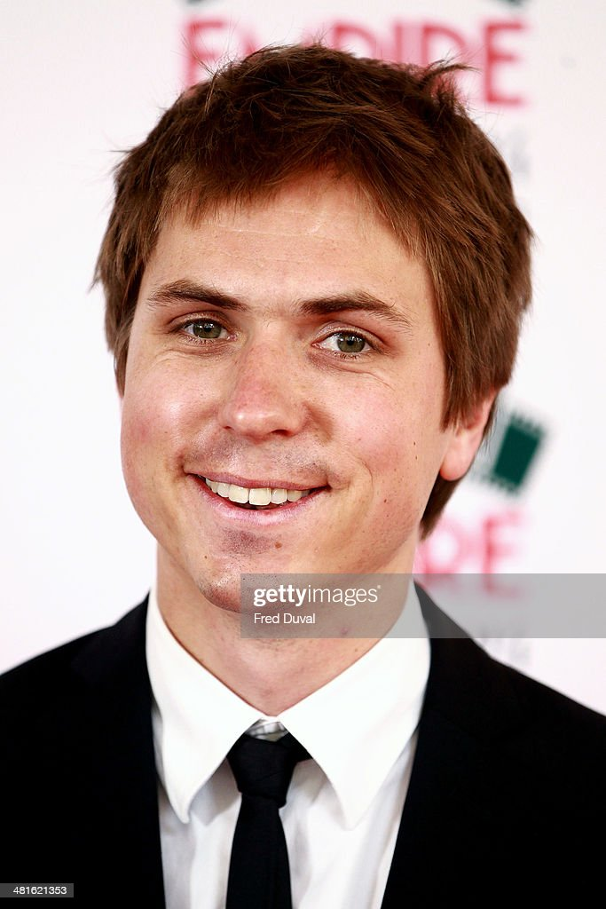 Joe Thomas attends the Jameson Empire Film Awards at The Grosvenor House Hotel on March 30, 2014 in London, England.