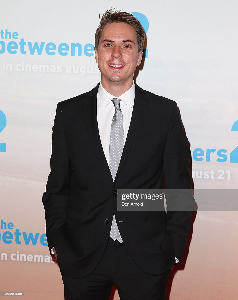 Joe Thomas poses at the premiere of 'The Inbetweeners 2' at Event Cinemas George Street on August 13 2014 in Sydney Australia The Inbetweeners 2 will...