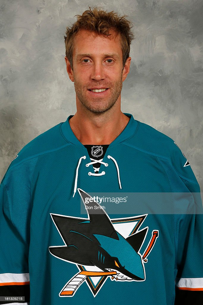 <a gi-track='captionPersonalityLinkClicked' href=/galleries/search?phrase=Joe+Thornton&family=editorial&specificpeople=201829 ng-click='$event.stopPropagation()'>Joe Thornton</a> of the San Jose Sharks poses for his official headshot for the 2013-14 season on September 11, 2013 at SAP Center in San Jose, California.