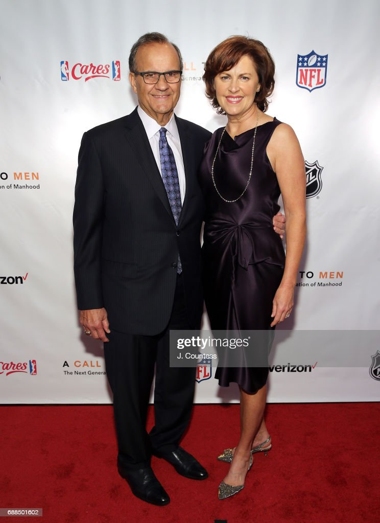 Joe Torre and Alice Torre pose for a photo at A Call To Men's 15th Anniversary Gala And Awards Dinner at The Lighthouse at Chelsea Piers on May 25, 2017 in New York City.