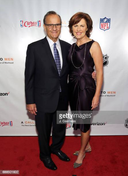 Joe Torre and Alice Torre pose for a photo at A Call To Men's 15th Anniversary Gala And Awards Dinner at The Lighthouse at Chelsea Piers on May 25...