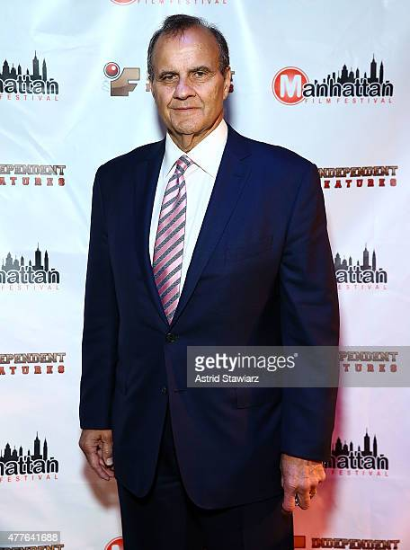 Joe Torre attends the Joe Torre Safe At Home Foundation 'Stuck in Traffick' Premiere at The Players Theatre on June 18 2015 in New York City