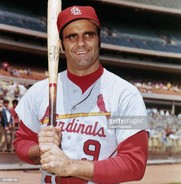Joe Torre of the St Louis Cardinals poses for a 1970 season portrait Torre played for the Cardinals from 196974
