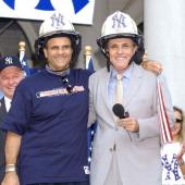 Joe Torre Yankees' manager and Rudolph Giuliani former New York City mayor