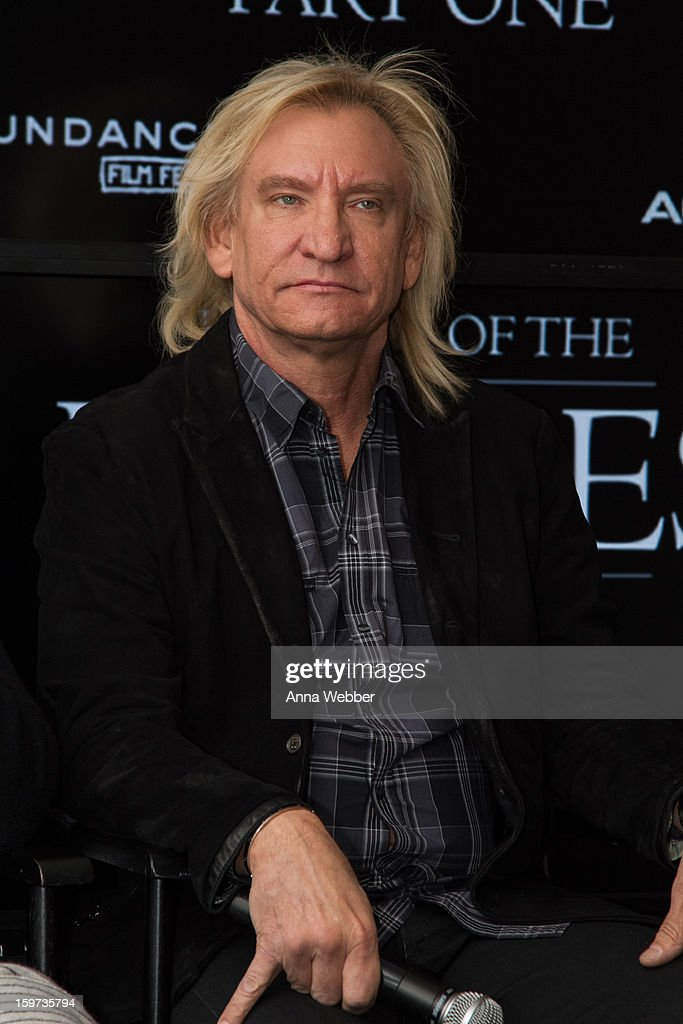 <a gi-track='captionPersonalityLinkClicked' href=/galleries/search?phrase=Joe+Walsh+-+Singer&family=editorial&specificpeople=223888 ng-click='$event.stopPropagation()'>Joe Walsh</a> of the Eagles attends 'History of the Eagles' Documentary Announcement - 2013 Park City on January 19, 2013 in Park City, Utah.