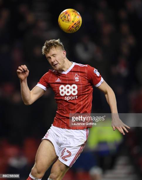 Joe Warrall of Nottingham Forest in action during the Sky Bet Championship match between Nottingham Forest and Bolton Wanderers at City Ground on...