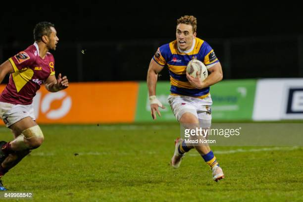 Joe Webber of the Steamers during the round six Mitre 10 Cup match between Bay of Plenty and Southland at Rotorua International Stadium on September...