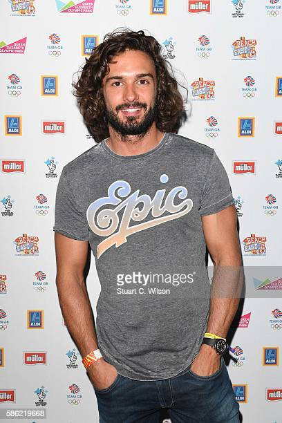 Joe Wicks arrives for the Team GB FanZone Opening Ceremony Party in Queen Elizabeth Olympic Park on August 5 2016 in London EnglandThe Team GB...