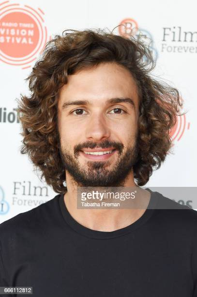 Joe Wicks attends the BFI Radio Times TV Festival at BFI Southbank on April 8 2017 in London England