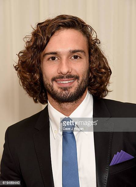 Joe Wicks attends the Daily Mirror Pride of Britain Awards in Partnership with TSB at The Grosvenor House Hotel on October 31 2016 in London England...